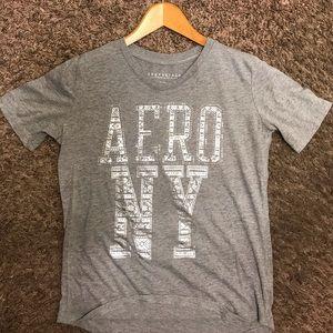 Aeropostal graphic T-Shirt - Gray